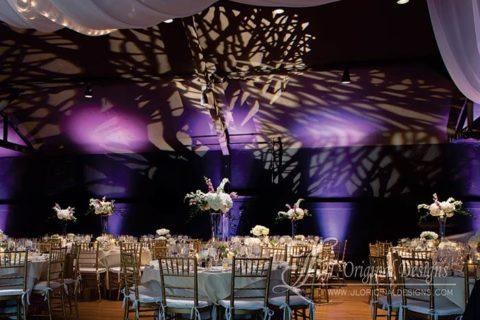 Extravagant wedding venue