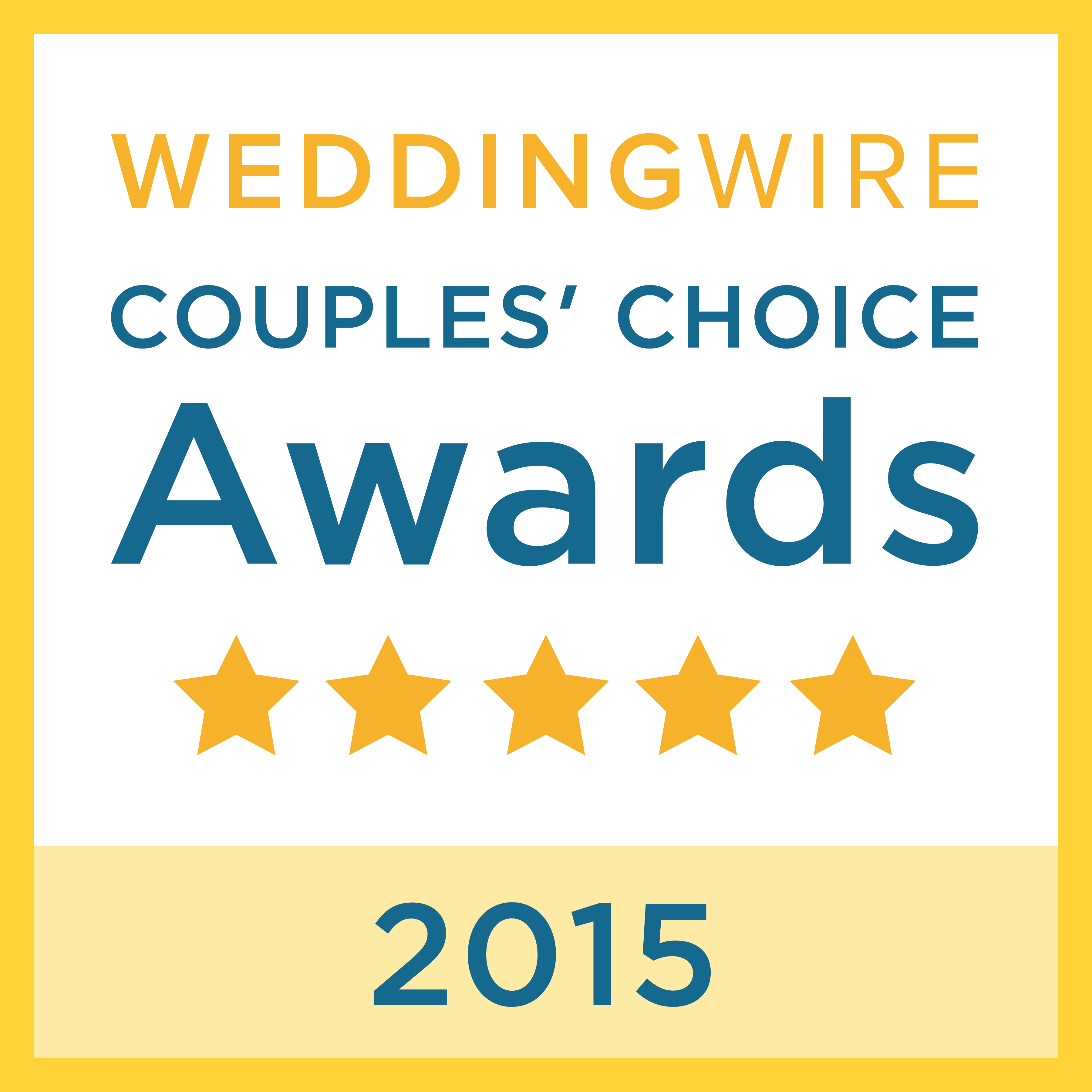 WeddingWire 2015