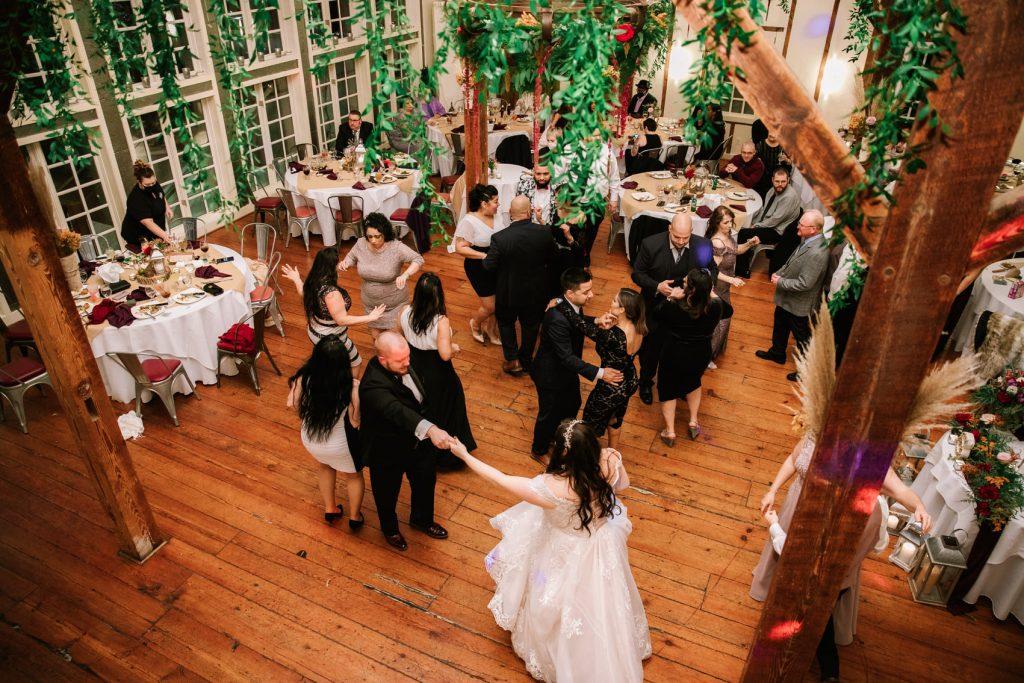 Event Florist - Dance Floor Design